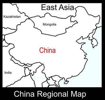 China Regional Map | ATC
