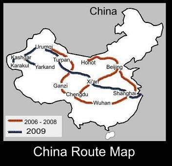 China Route Map | ATC