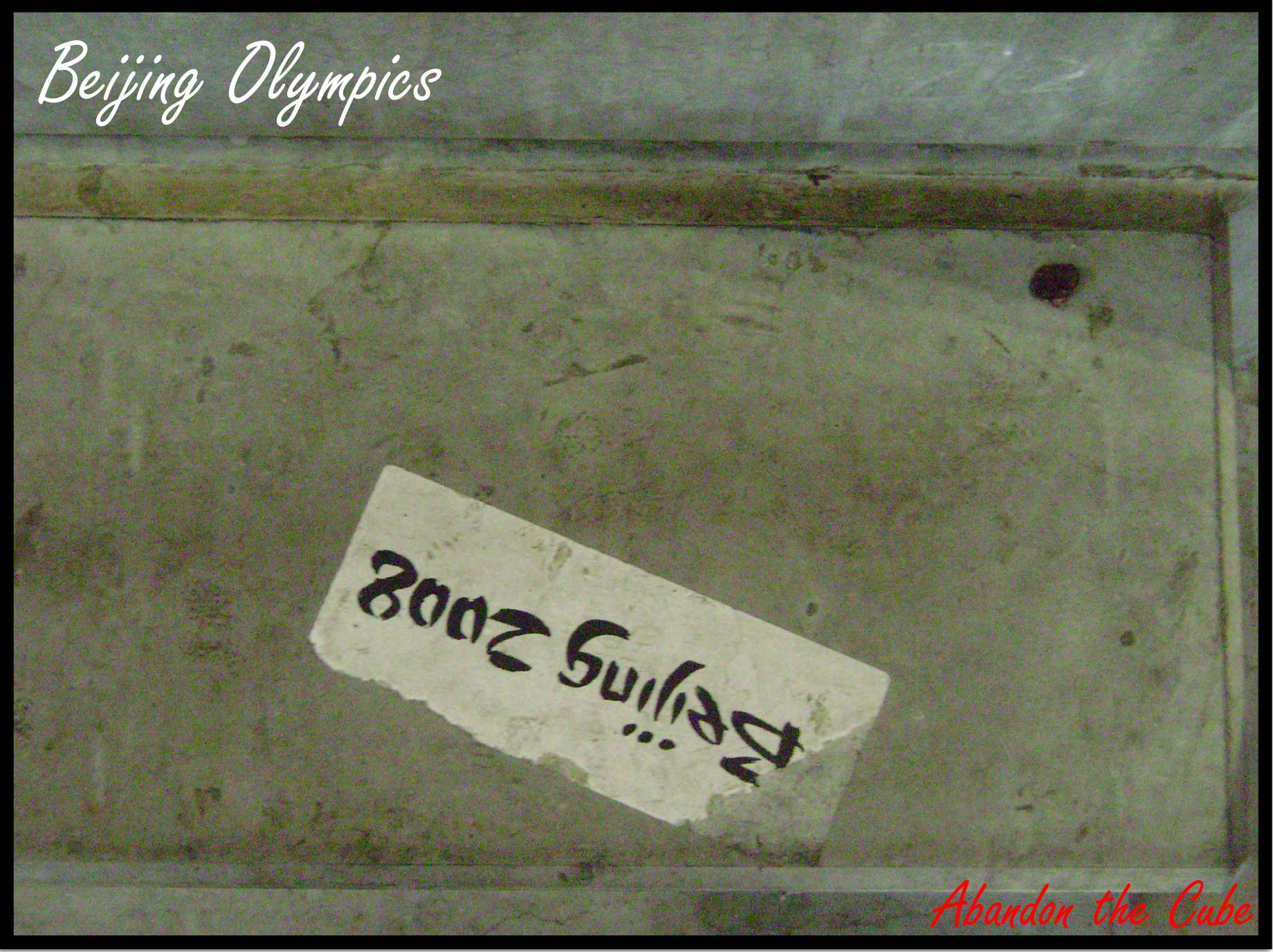 Abandon the Cube | Beijing Olympics