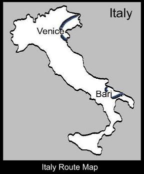 Italy Route Map | ATC