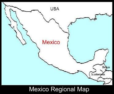 Mexico Regional Map | ATC