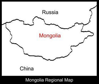 Mongolia Regional Map | ATC