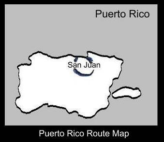 Puerto Rico Route Map | ATC