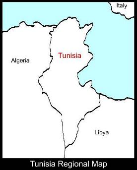 Tunisia Regional Map | ATC