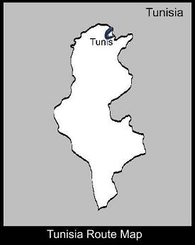 Tunisia Route Map | ATC