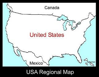USA Regional Map | ATC
