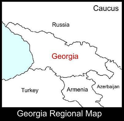 Georgia Regional Map | ATC