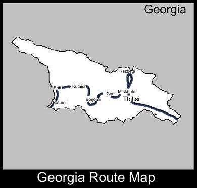 Georgia Route Map | ATC