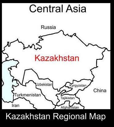 Kazakhstan Regional Map | ATC