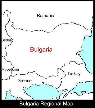Bulgaria Regional Map | ATC