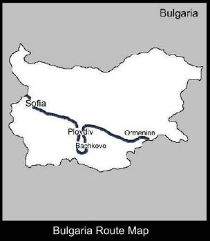 Bulgaria Route Map | ATC