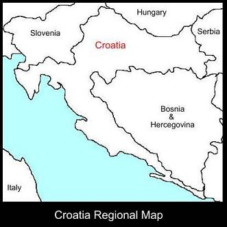 Croatia Regional Map | ATC