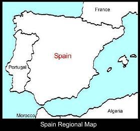 Spain Regional Map | ATC