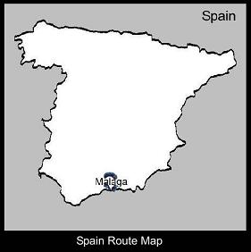 Spain Route Map | ATC