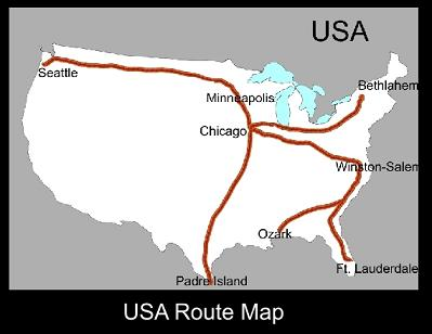 America Route Map | ATC