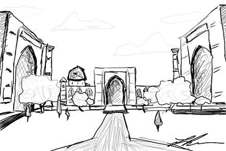 Registan Sketch | ATC