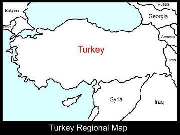 Turkey Regional Map | ATC