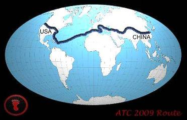 World Map Route 2009 | ATC