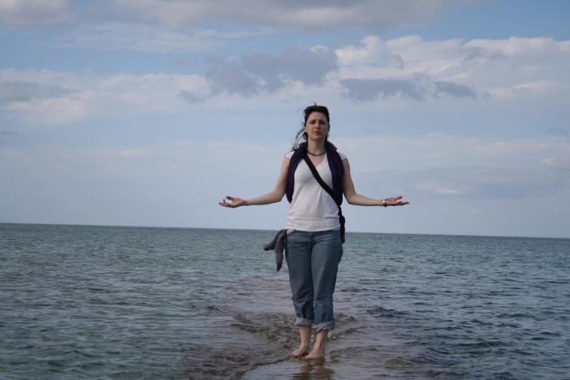 Lauren in Okinawa, Japan