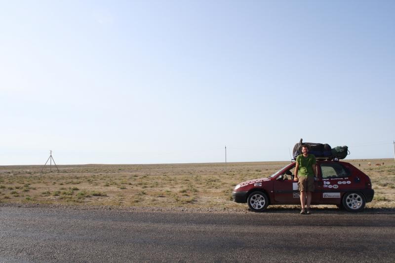 ATC Mongol Rally on the Road