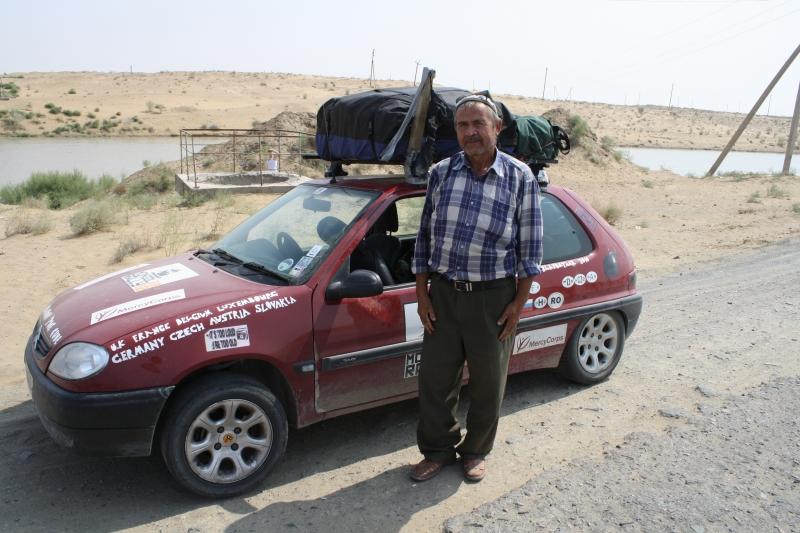 ATC Mongol Rally in Uzbekistan