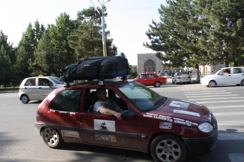 ATC Mongol Rally in Samarkand