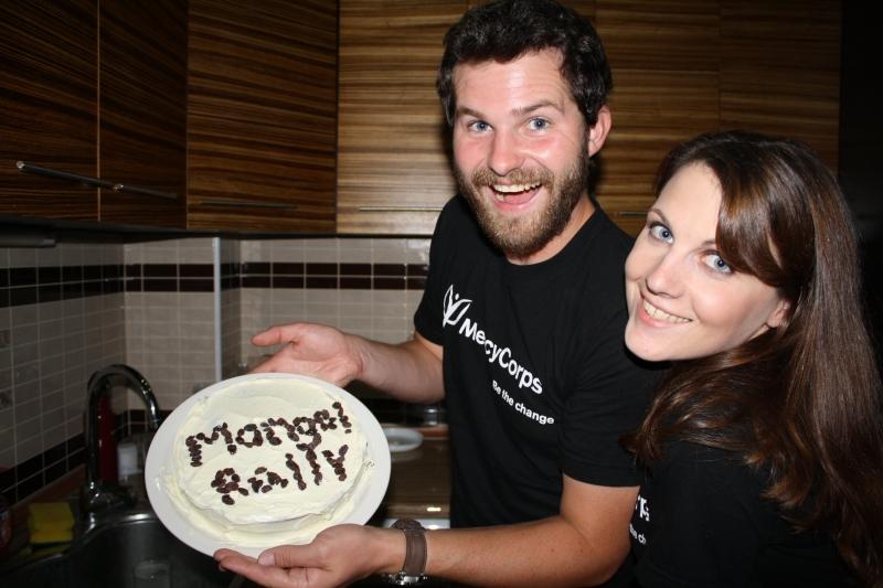 ATC Mongol Rally, Cake!