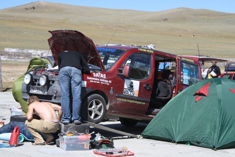 ATC Mongol Rally Breakdown
