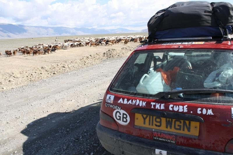 ATC Mongol Rally Car