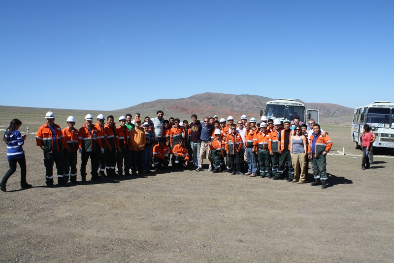 ATC Mongol Rally, Mining Camp in Mongolia