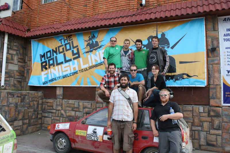 ATC Mongol Rally and Friends