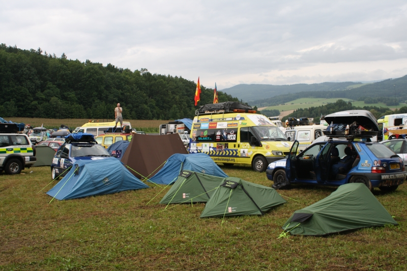 ATC Mongol Rally Czech-Out Party
