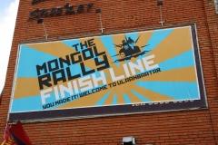 ATC Mongol Rally Finish Line!