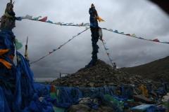 Mongolian Budhist Monument