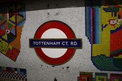 London Metro Sign