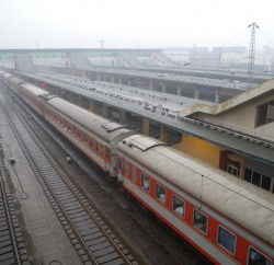 China_-_Xi'an_train_yard