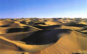 The Dunes of the Great Taklamakan Desert