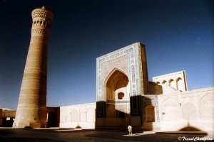 Minaret in Uzbekistan