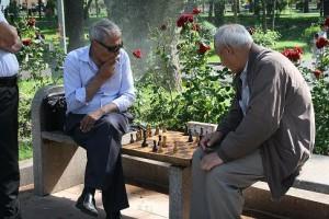 Chess in Tashkent