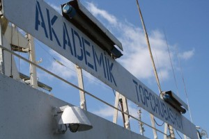 The Trans-Caspian Akademik