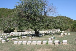 ANZAC graves