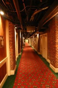 Basement of the Mount Washington Resort