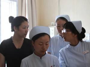 Nurses at the Hosptial