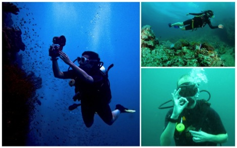 Scuba Diving in Thailand - Abandon the Cube
