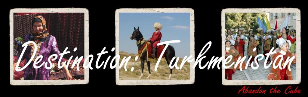 Turkmen banner trio