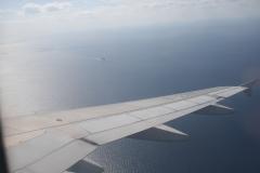 Flying to Okinawa, Japan