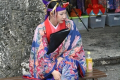 Geisha in Okinawa, Japan
