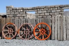 ger Tops in Mongolia